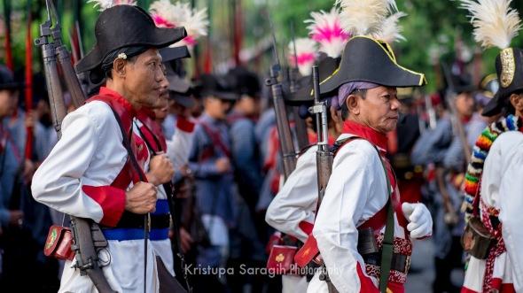 Prajurit Daheng. Foto: Kristupa Saragih